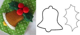 Enfeites Craft Para A Arvore De Natal Sentiu Natal Enfeites De