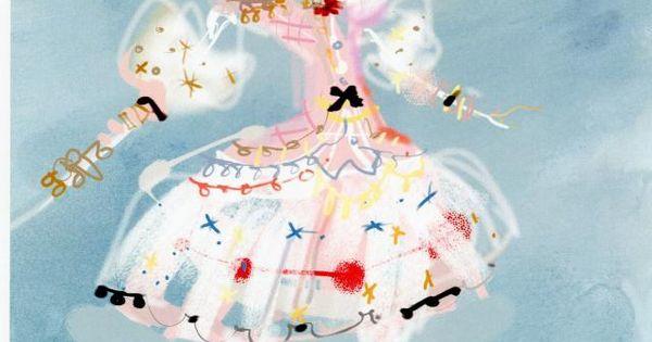 Christian Lacroix costume design, Paris Opera Ballet.