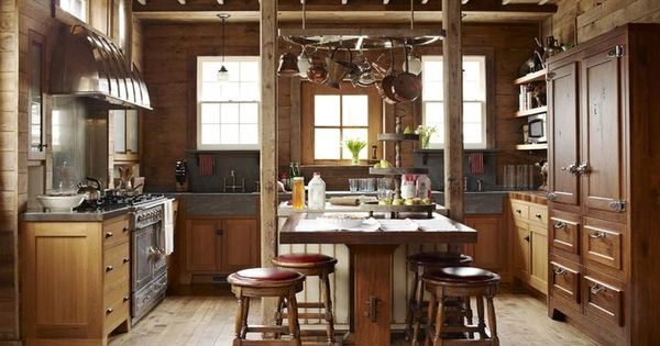 50 Different Barn Kitchen Design Styles Cabin Or Barn Dream House Pinterest Barn
