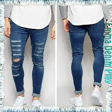 Resultado De Imagen Para Jeans Rotos Hombre 2016 Skinny Jeans Men Lined Jeans Mens Jeans