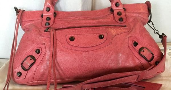 7fc0c17d0b Balenciaga Classic The 1st in pink
