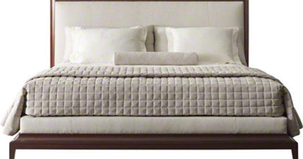 Baker furniture moderne platform bed 8627ck thomas for Affordable furniture in baker