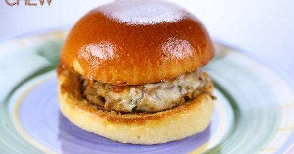Mushroom Burgers Recipe by Clinton Kelly - The Chew
