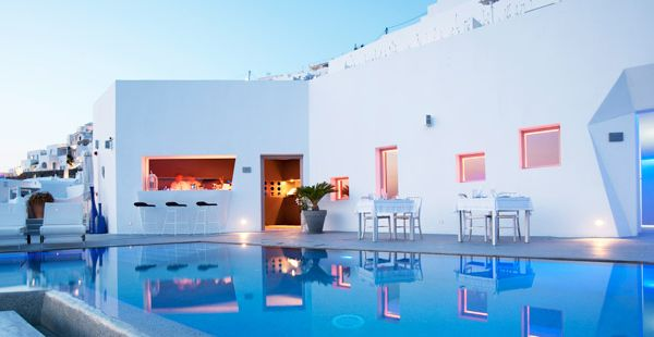 Grace Santorini hotel by Divercity Architects.