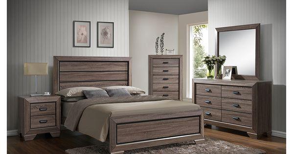 Farrow Driftwood 8 Pc King Bedroom Bedroom Sets Queen Modern Bedroom Furniture Bedroom Furniture Sets
