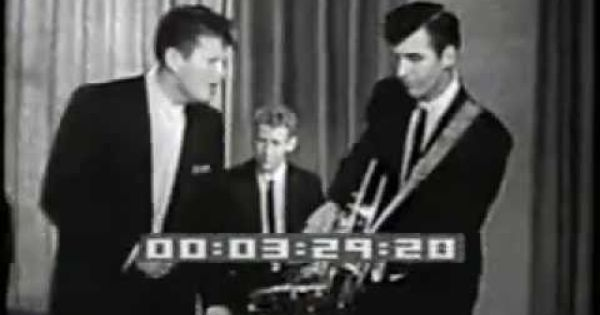 Ronnie Hawkins With Levon Helm 1959 Canadian After School Tv