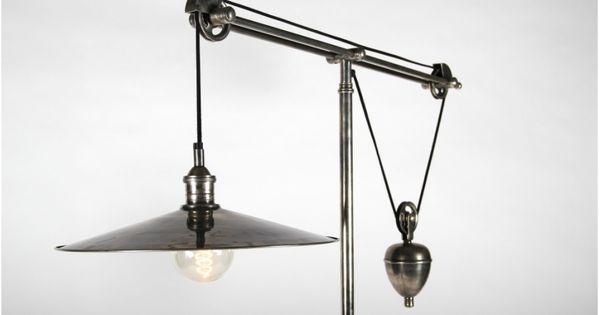 12 Pas Cher Lampe Sur Pied Industriel