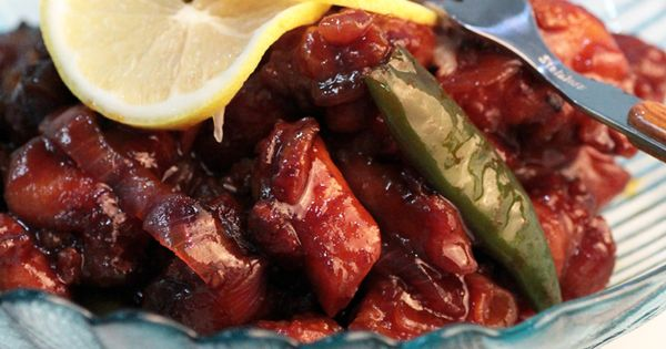 Sweet sour chicken, Spicy and Sweet on Pinterest