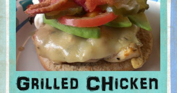 Chicken club, Grilled chicken and Chicken on Pinterest
