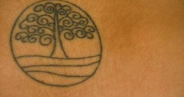 I like this small tattoo