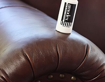 Ways to get ink off a leather couch.