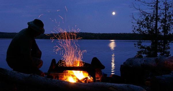 Camping on Minnesota's Gunflint Trail near the Boundary ...