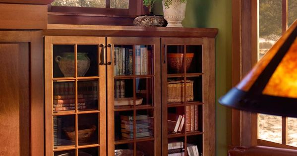 Craftsman Style Storage Waypoint Living Spaces Style 410s In Cherry Spice Kitchen Design