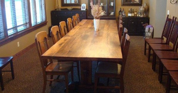 12 foot dining room table fits 12 to 14 people comfortably for 12 foot long dining room table