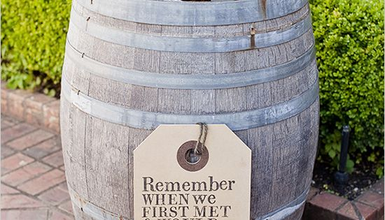 cocktail station ideas + the cutest wedding sign! perfect for our winery