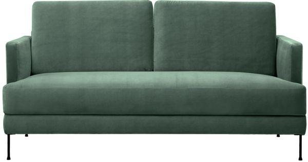 Machen Sie Ihr Wohnzimmer Mit Samt Sofa Fluente 3 Sitzer In Grun Zur Wohlfuhloase Entdecken Sie Weitere Mobel Von Westwing Collectio Samt Sofa Sofa