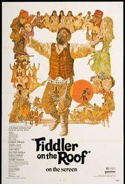 Fiddler On The Roof Poster Cine Musical Peliculas Musicales Carteleras De Cine