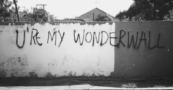 wonderwall lyrics - Google Search