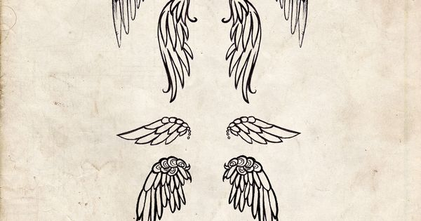 Tattoos / Angel Wing tattoo design tattoo tattoos ink inked tattoosforwomen tattoosforgirls