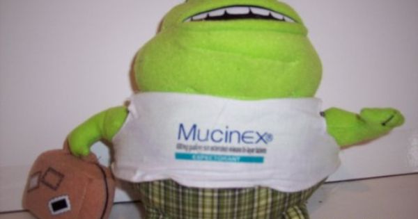 Amazon Com Novelty Quot Mr Mucus Quot Mucinex Plush Guy 7
