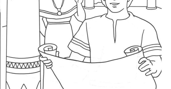 joseph and potifer coloring pages - photo#12