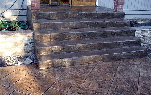 Cmdt Systems Decorative Stamped Concrete Walkways And