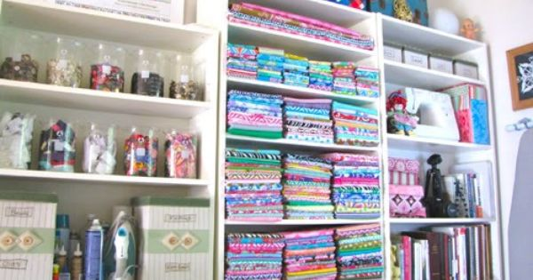 Sewing Room Organization {Craft Sewing Room}