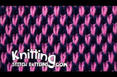 Knitting Stitch Patterns: Mock Honeycomb Brioche stitch patterns Pinteres...