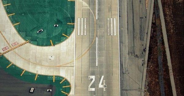 amazing airport aerial