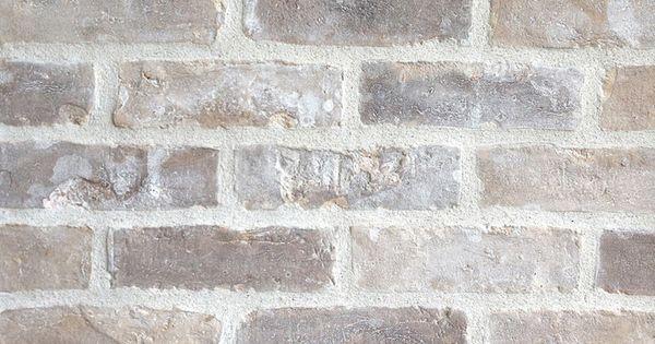 Silver Port M White Mortar Concave Finish Brick Companies Fire Pit Materials Brick