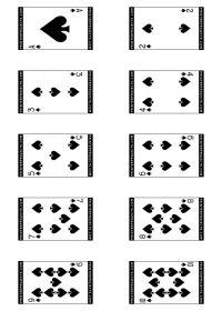 Printable Deck Of 52 Playing Cards Printable Playing Cards Free Cards To Print Playing Cards