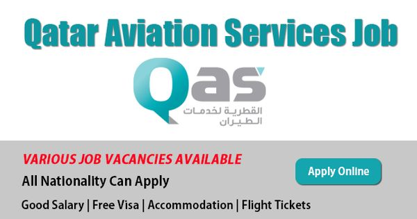 Latest Vacancies In Qatar Aviation Services With Images