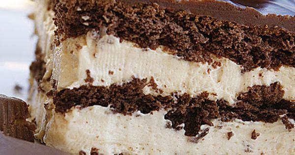 Peanut Butter Chocolate Eclair Cake Recipe