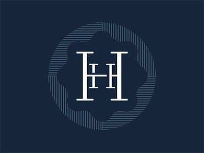 Hh Monogram Graphic Design Logo Letter Logo Design Logo Design