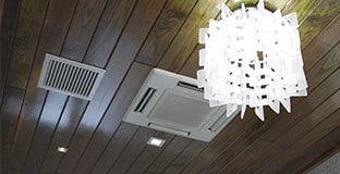 Ceiling Recessed Ductless Mini Split Air Conditioner Ductless Mini Split Ductless Wooden Ceiling Design