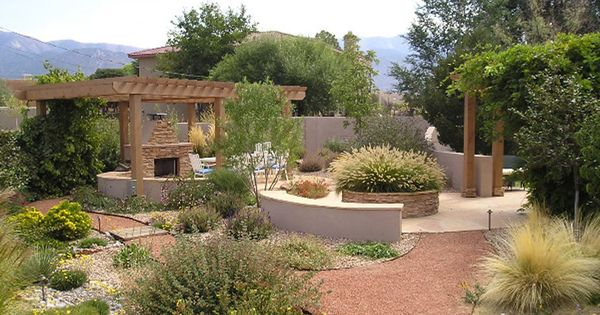 Residential Landscaping Albuquerque : Albuquerque old town photo picture image new xericscape landscape
