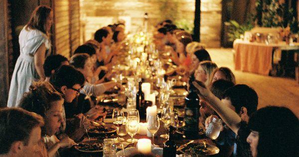 #dinnerparty social