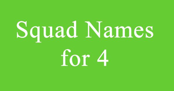 Squad Names For 4 Volleyball Team Names Group Names Ideas Group Names Funny