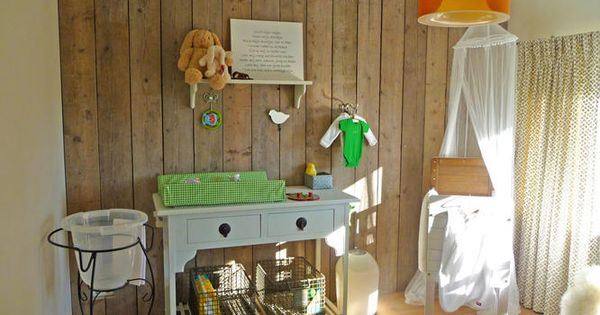 Wand met steigerhout bekleden  slaapkamer ideeen  Pinterest  Google ...