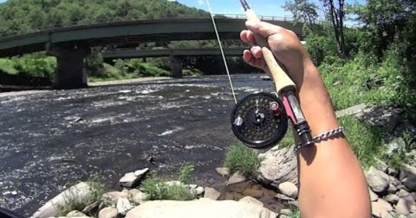 W4f fly fishing beaverkill river roscoe ny ken for Roscoe ny fishing