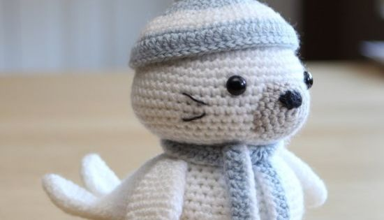 Amigurumi Sammy The Seal : Make this cute little seal pup with an easy to follow Free ...