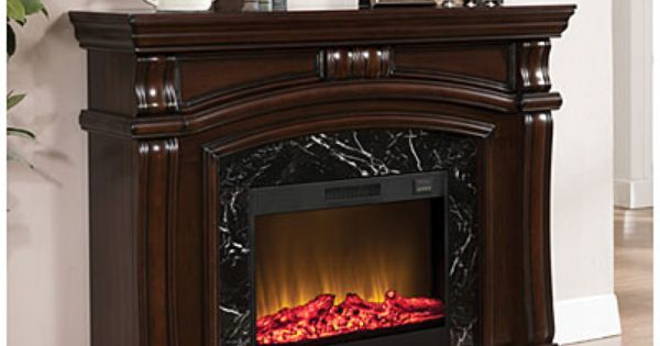 62 Quot Grand Cherry Fireplace At Big Lots Ideas For The