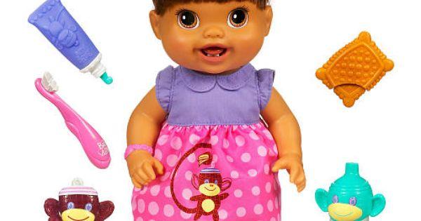 Baby Alive Baby S New Teeth Doll Brunette Hasbro