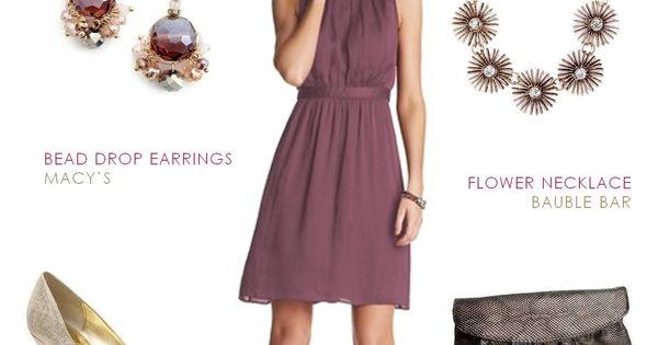 Dressy casual dress for a september wedding guest mauve for Dresses for september wedding guest