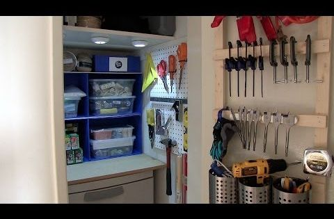 How To Organize Your Closet For Tools Or Crafting Supplies