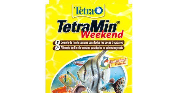 Tetra Comida Para Peces Y Tortugas Tetra Min Weekend 20 Uds En