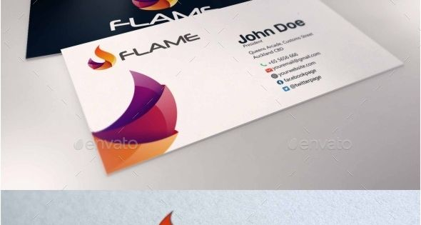 Flame is a professional clean and elegant logo for company or personal