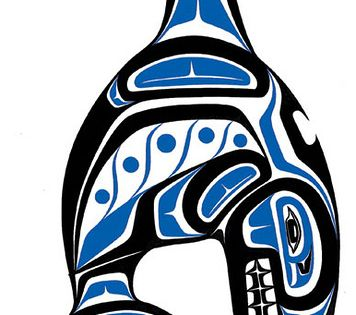 Haida Art Whale Haida Art Whale British north america Killer whales