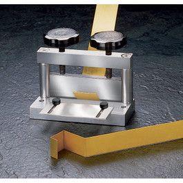 Mini Bending Brake Produces Sharp Clean Bends In Metal A Press