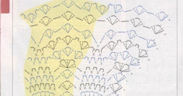 Crochet Jersey Stitch : ! Patrones Crochet: Jersey de Red Superposicion de Oto?o Crochet ...